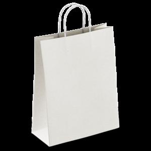 Bolsa Blanca con Asa